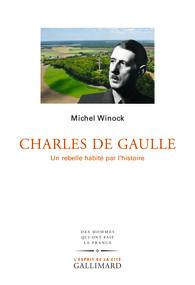 M. Winock, Charles de Gaulle. Un rebelle habité par l'histoire