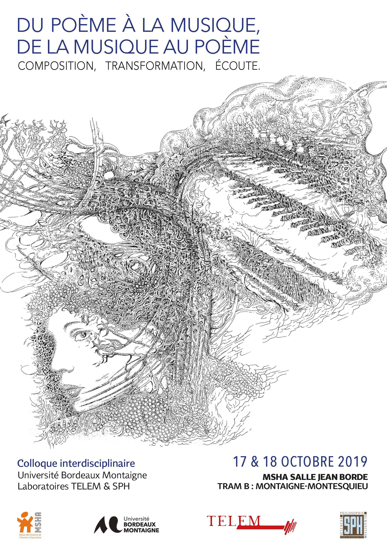 Du poème à la musique, de la musique au poème. Composition, transformation, écoute (Bordeaux)