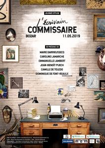 L'Écrivain commissaire (vidéos de la journée d'étude en ligne)
