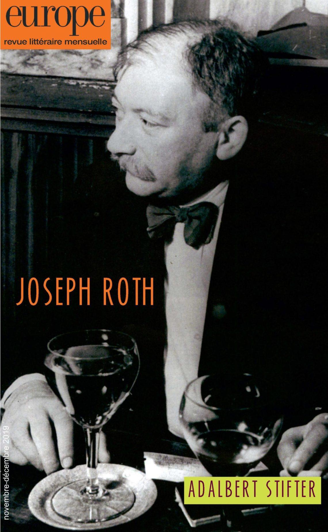 Europe, n° 1087-1088 (nov.-déc. 2019) : Joseph Roth, Adalbert Stifter