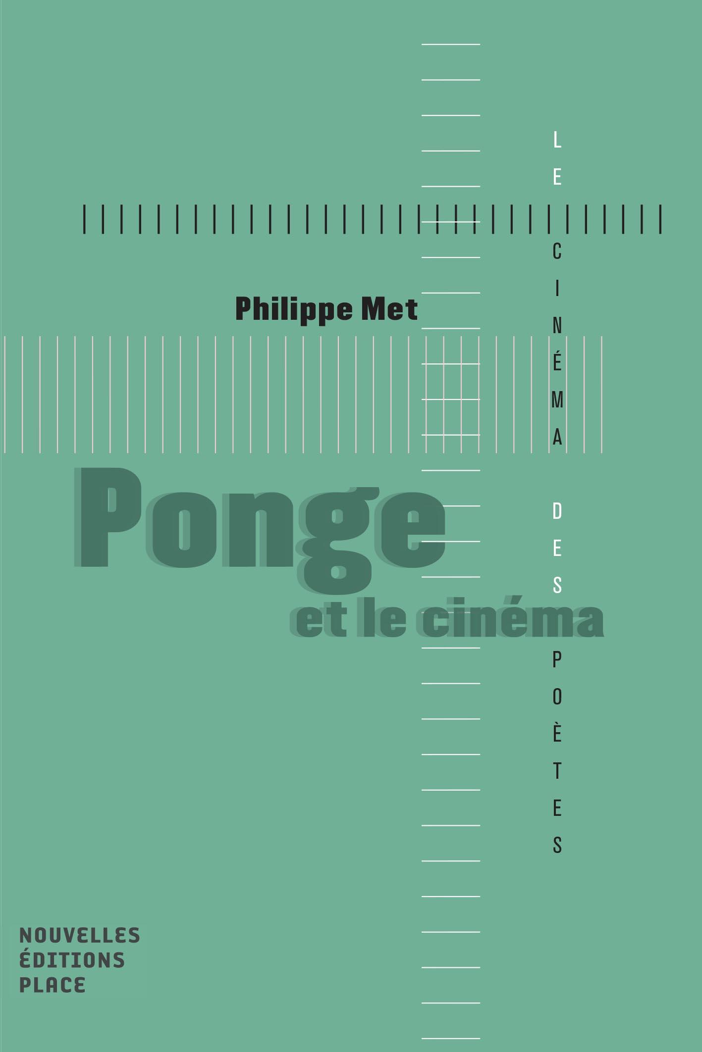Ph. Met, Ponge et le cinéma