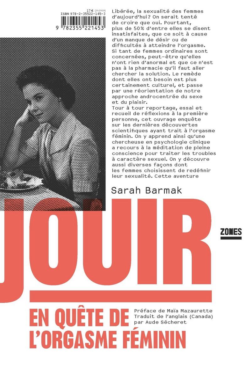 S. Barmak, Jouir. En quête de l'orgasme féminin
