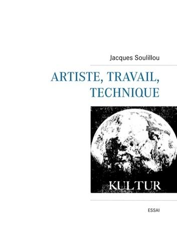 J. Solillou, Artiste, travail, technique