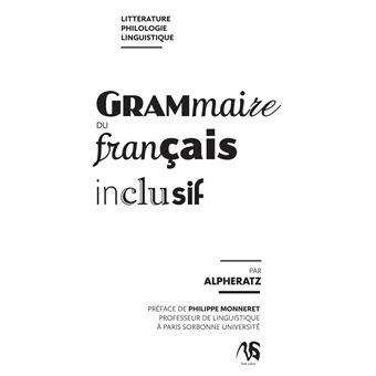 Alpheratz, Grammaire du français inclusif