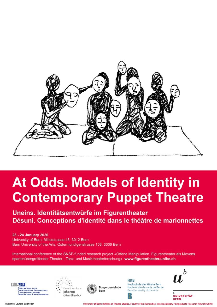 Désuni. Conceptions d'identité dans le théâtre de marionnettes / At Odds. Models of Identity in Contemporary Puppet theatre / Uneins. Identitätsentwürfe im Figurentheater (Berne)