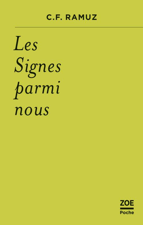 C.-F. Ramuz, Les Signes parmi nous (nouvelle éd.)