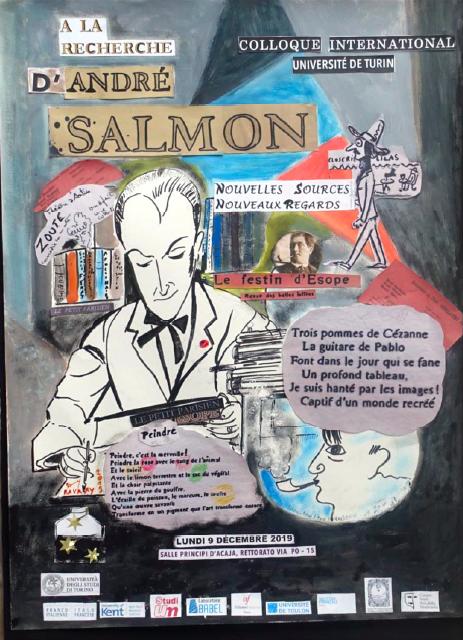 À la recherche d'André Salmon: nouvelles sources, nouveaux regards (Turin)
