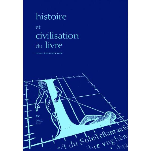 Histoire et civilisation du livre, n° 120 :
