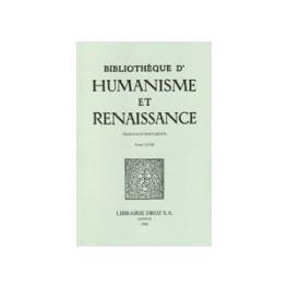 Bibliothèque d'Humanisme et Renaissance, LXXXI-II