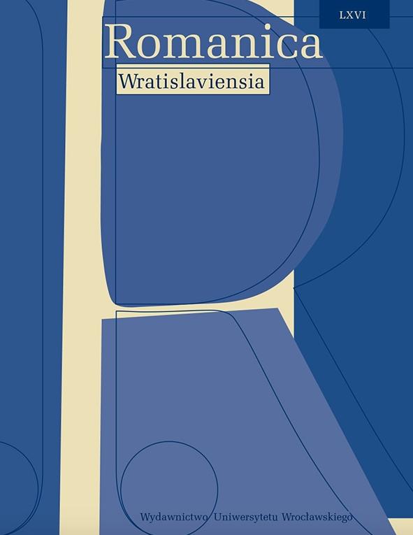 Romanica Wratislaviensia, 66 :