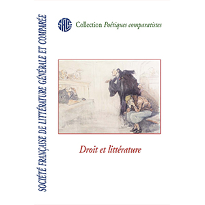 C. Baron, J. Sarfati Lanter (dir.),Droit et littérature