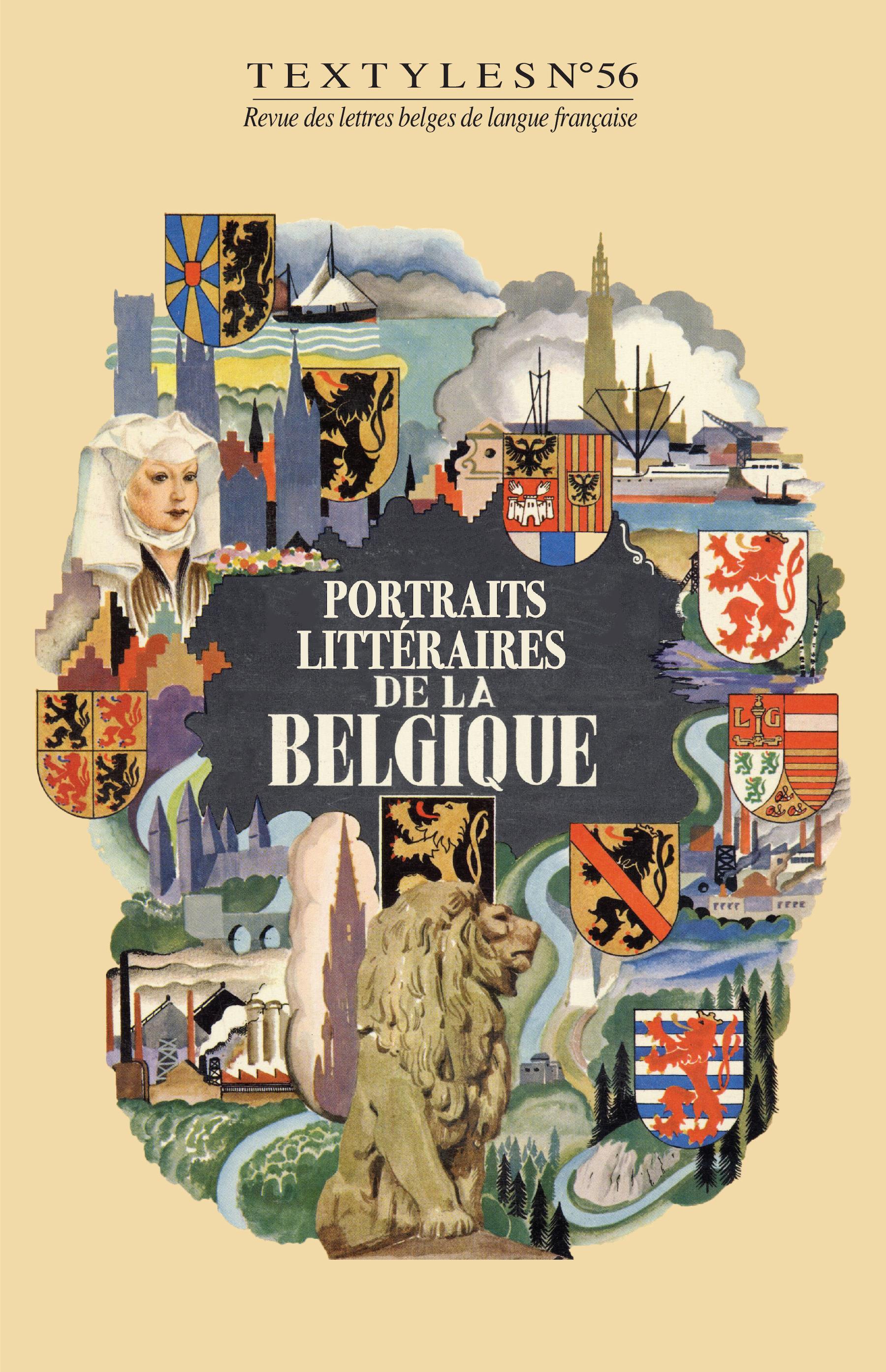 Portraits littéraires de la Belgique