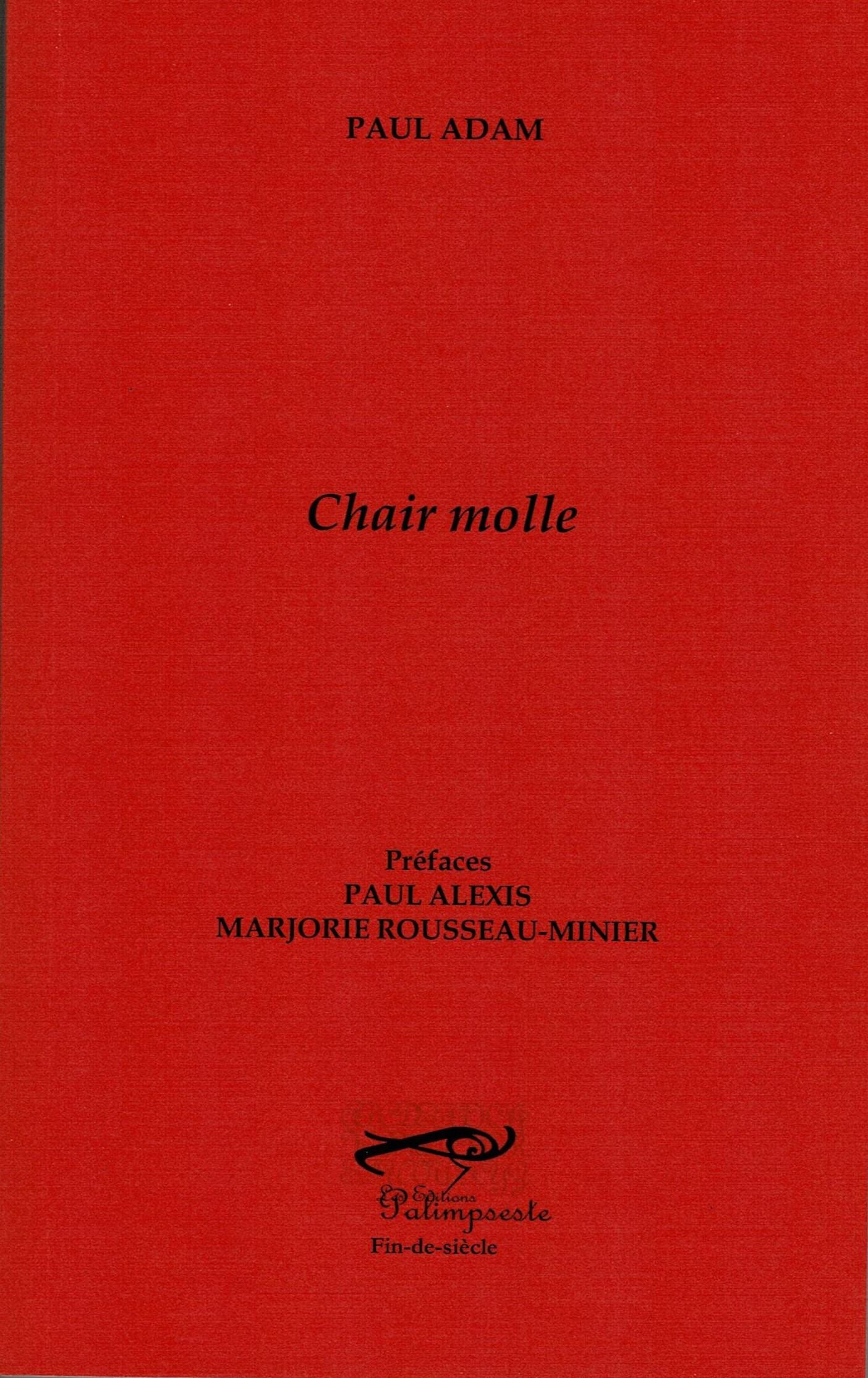 P. Adam, Chair molle (1885)