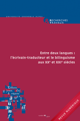 Recherches & Travaux, n° 95-2019 :