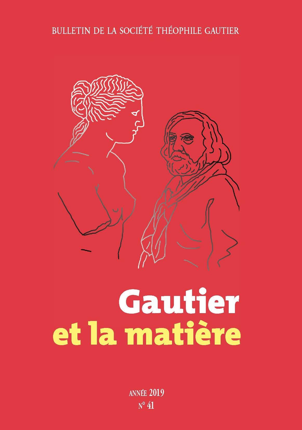 Bulletin de la Société Théophile Gautier, n° 41 :