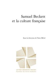 Y. Mével (dir.), Samuel Beckett et la culture française