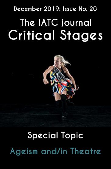 Critical Stages/Scènes critiques, n° 20, Ageism and/in Theatre (dir. Y. Ch. Kim et M. Noda)