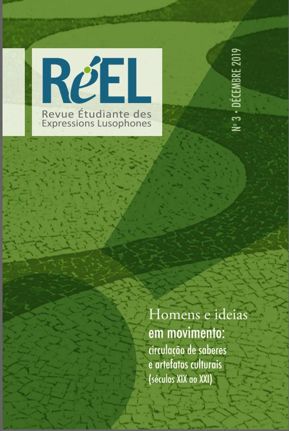 Revue étudiante des expressions lusophones (RÉEL), n° 3:
