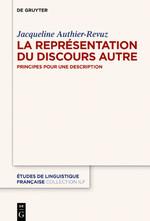 J. Authier-Revuz, La Représentation du Discours Autre. Principes pour une description