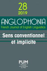 <em>Anglophonia</em>, n° 28 :
