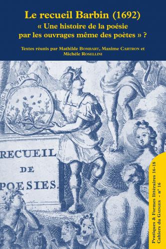 <em>Pratiques & formes littéraires 16-18</em>, n° 1 :