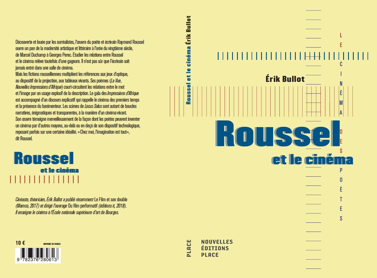 E. Bullot, Roussel et le cinéma