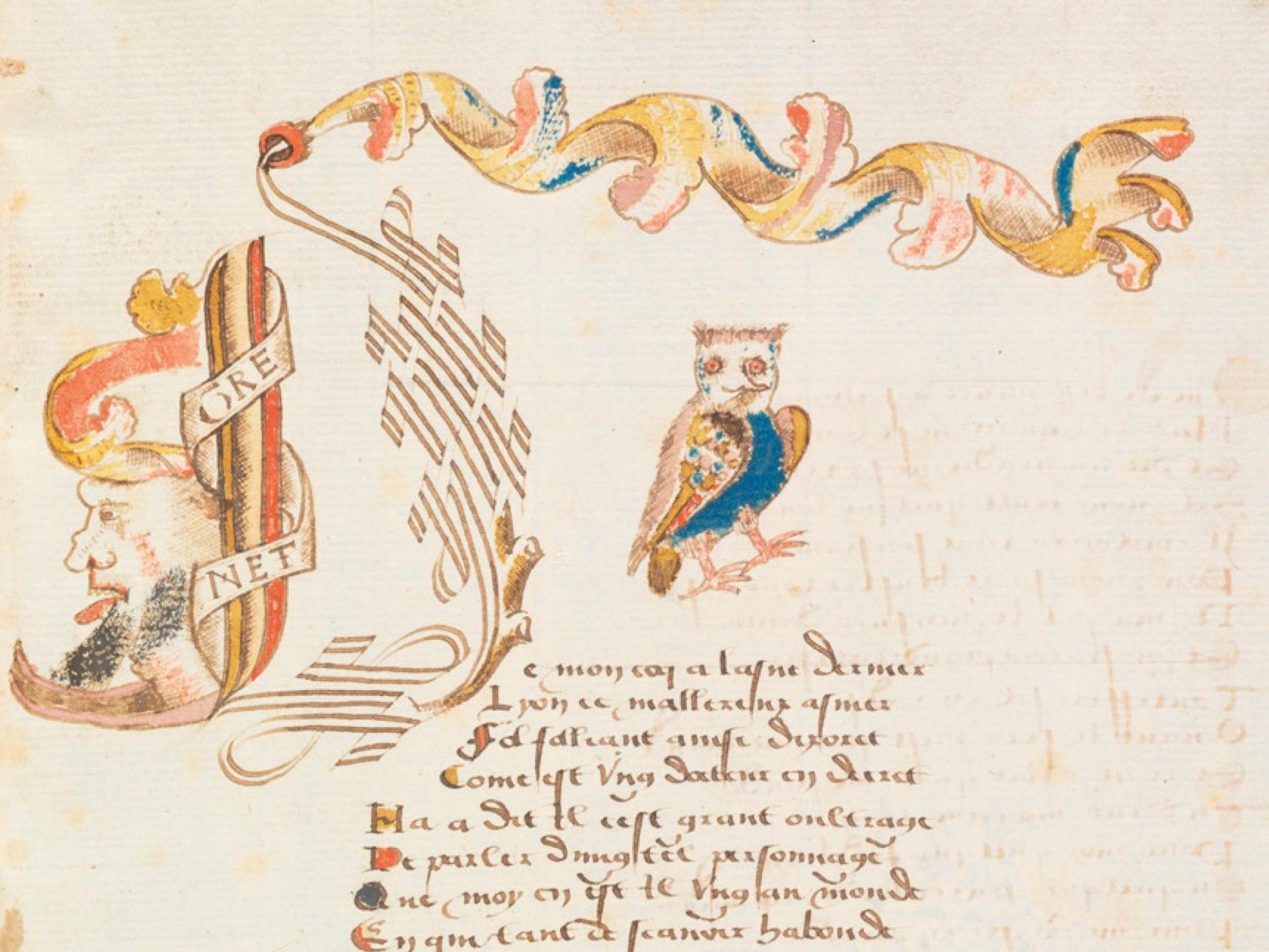 Le Recueil Grenet. La poésie sur les rives du Léman au 16e siècle (Lausanne)