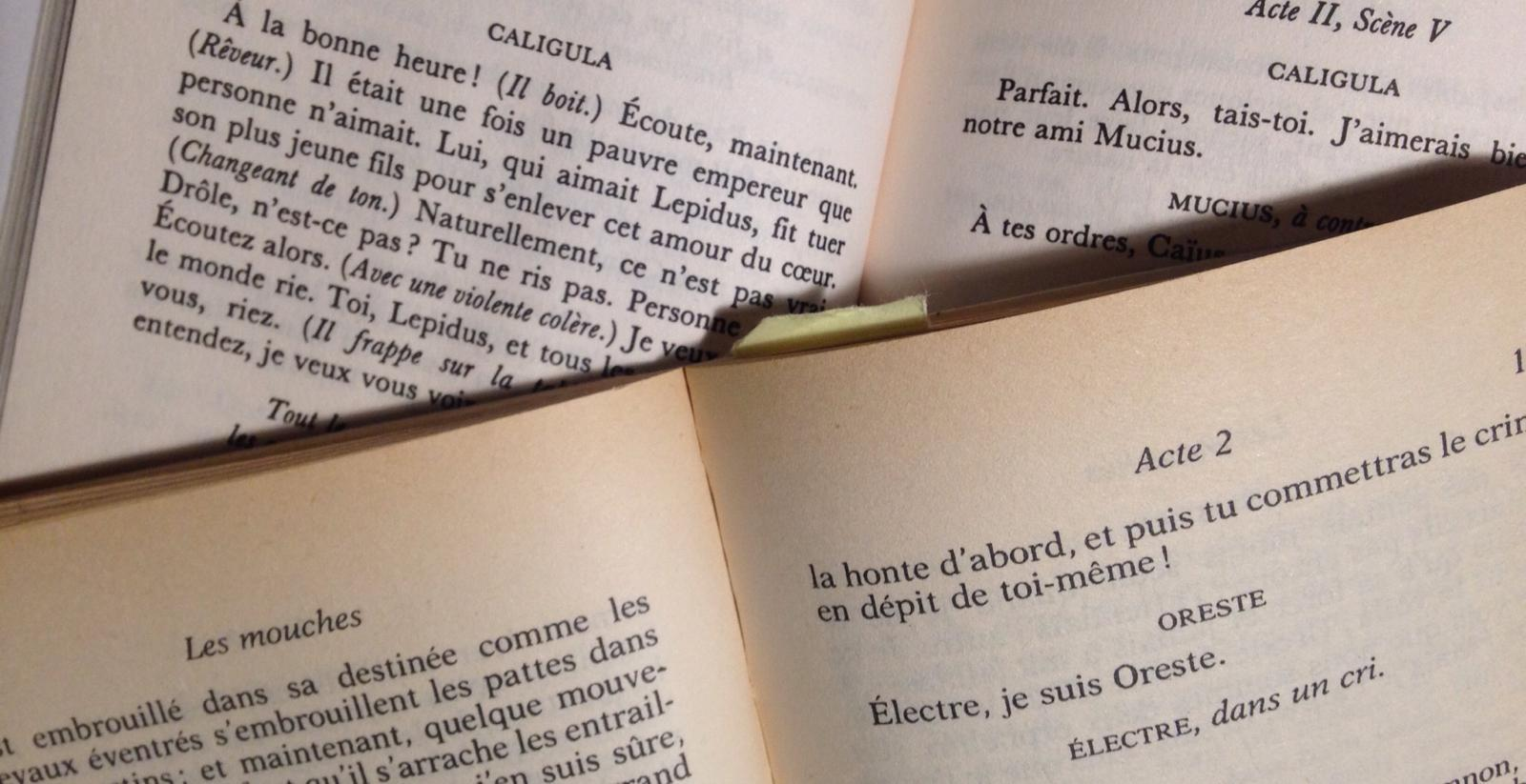 Entre <em>logos</em> et engagement. Le théâtre d'Albert Camus et de Jean-Paul Sartre (Paris)