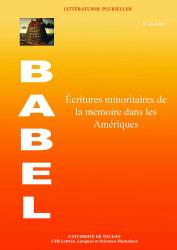C. Dualé, A. Garrait-Bourrier (dir.), Écritures minoritaires de la mémoire dans les Amériques