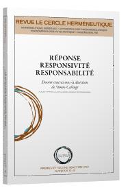Simon Calenge (dir.), Réponse, responsivité, responsabilité