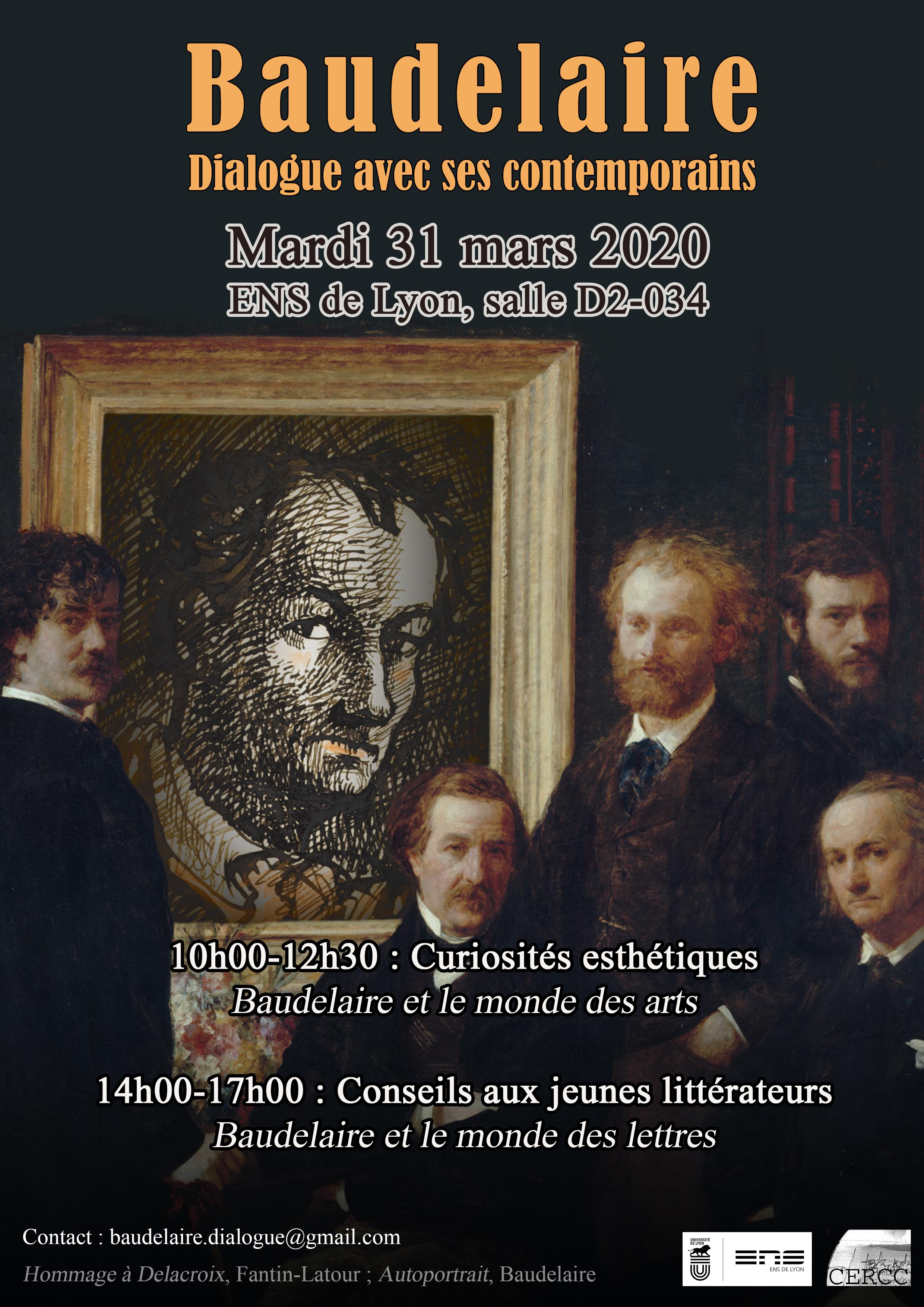 Baudelaire : dialogue avec ses contemporains (ENS Lyon)