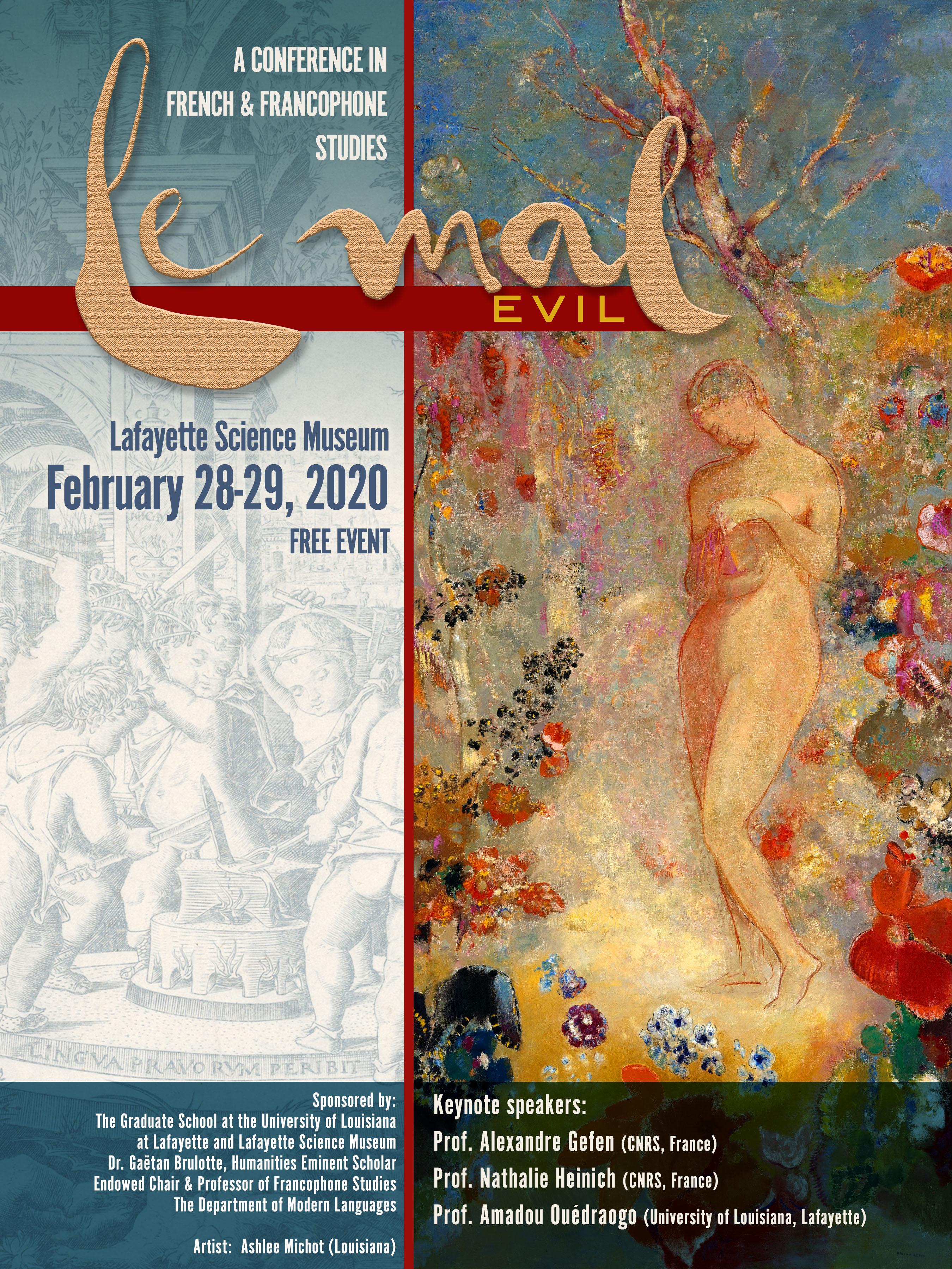 Le Mal/Evil (Lafayette Science Museum, Louisiane)