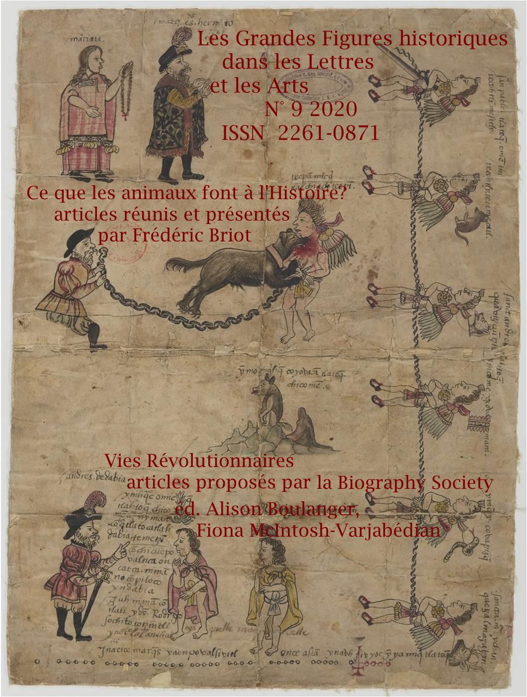 Les grandes figures historiques dans les lettres et les arts, n° 9: