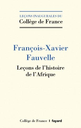 F.-X. Fauvelle, Leçons sur l'histoire de l'Afrique