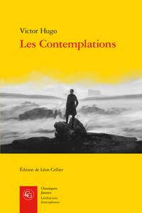 V. Hugo, Les Contemplations (éd. L. Cellier)