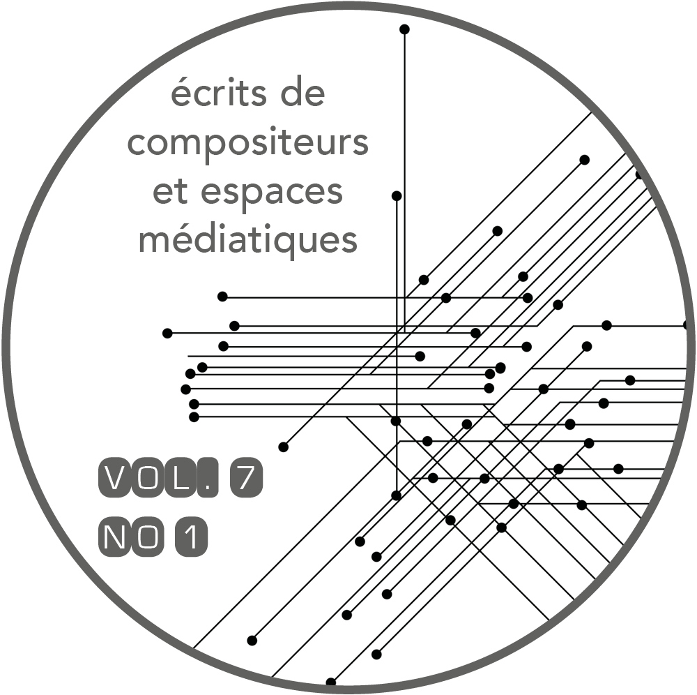 Revue musicale OICRM, vol. 7, n°1, avril 2020,