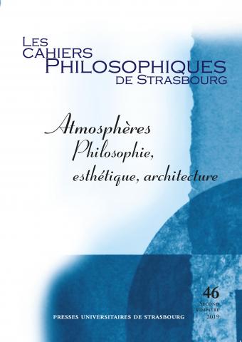 M. Galland-Szymkowiack, M. Labbé (dir.), Atmosphères. Philosophie, esthétique, architecture