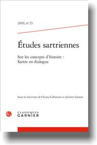 Études sartriennes, n° 23.