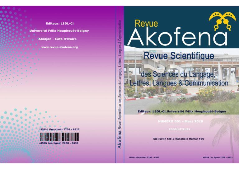 <em>Akofena,</em> n°1