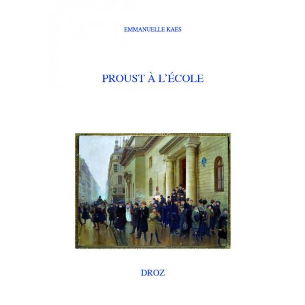 E. Kaës, Proust à l'école