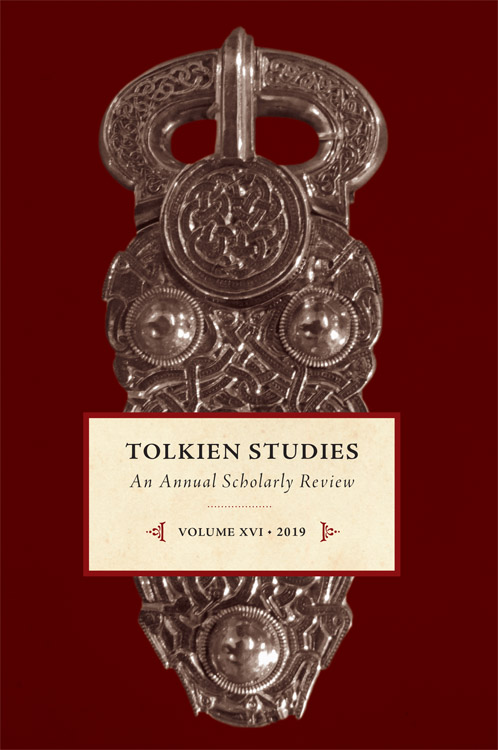 Tolkien Studies: An Annual Scholarly Review, 16, 2019