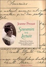 J. Proust, Souvenirs de lecture