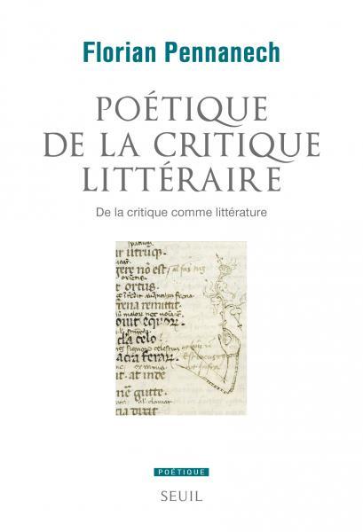 La critique comme littérature : entretien de F. Pennanech avec F. Wagner (<em>Vox poetica</em>)
