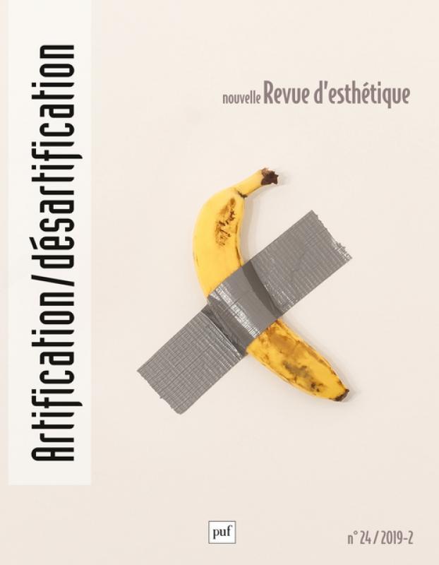 Nouvelle Revue d'Esthétique, n° 24, 2020 :
