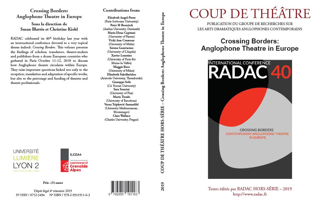 Coup de Théâtre, HS 2019 :