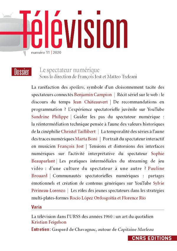 Télévision, n° 11: