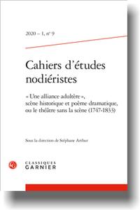 Cahiers d'études nodiéristes, 2020-1, n° 9 :