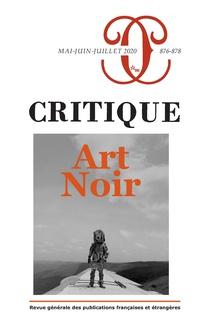 Critique, n° 876-877-878 :