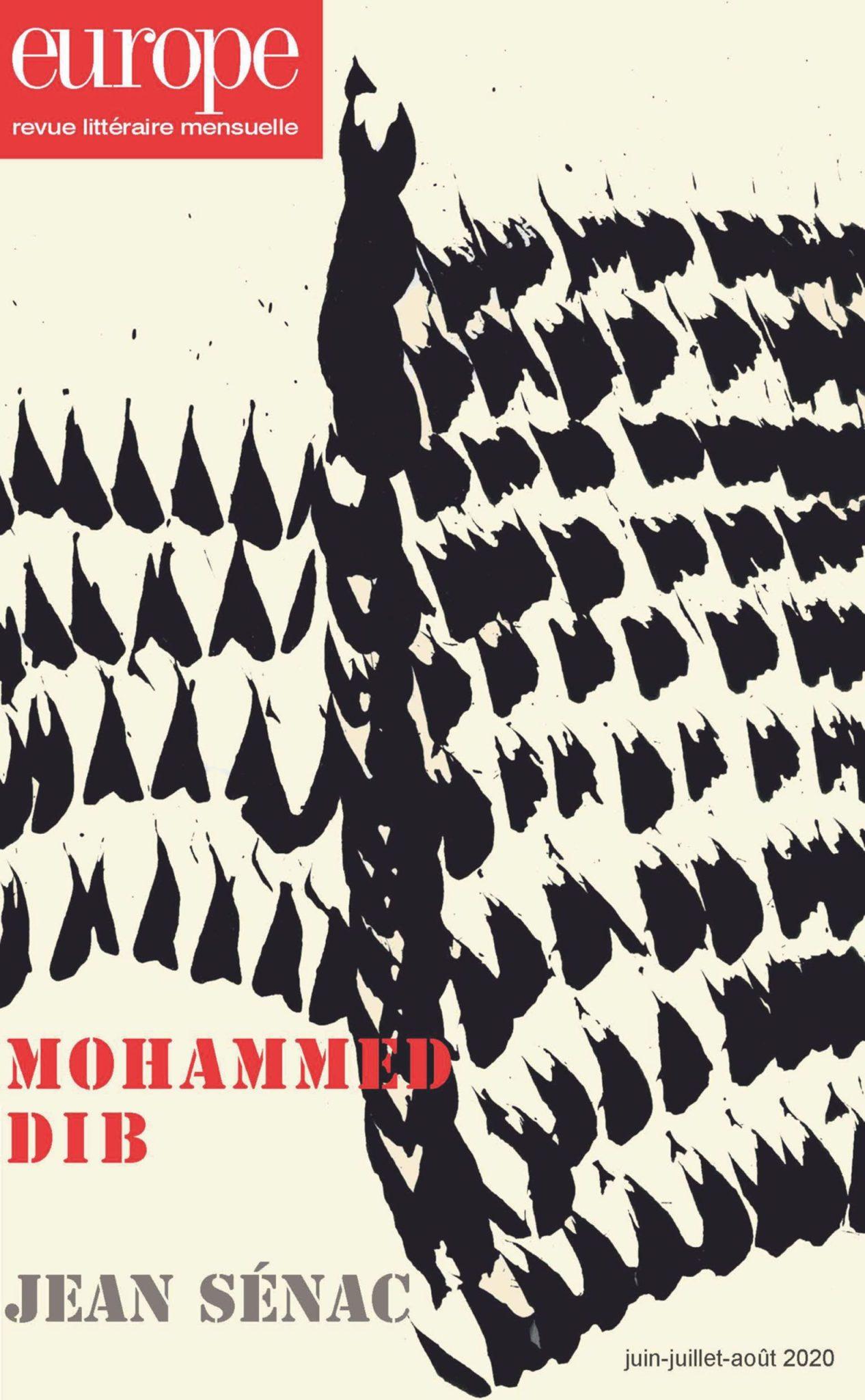 Europe, n° 1094-1095-1096 : Mohammed Dib / Jean Sénac