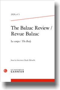 The Balzac Review / Revue Balzac 2020, n° 3: